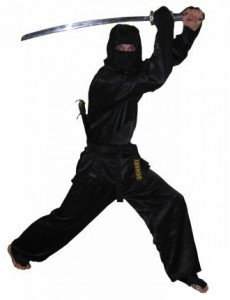 the Ukrainian ninjia - Denis Baldin
